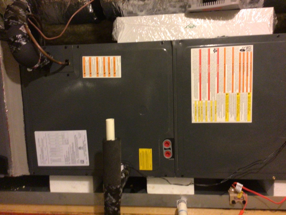Cypress, TX - Replaced dryers on air handler system