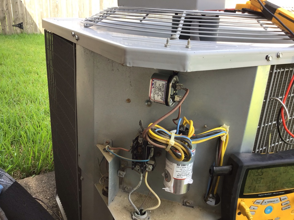Cypress, TX - Replaced Bad Capacitor