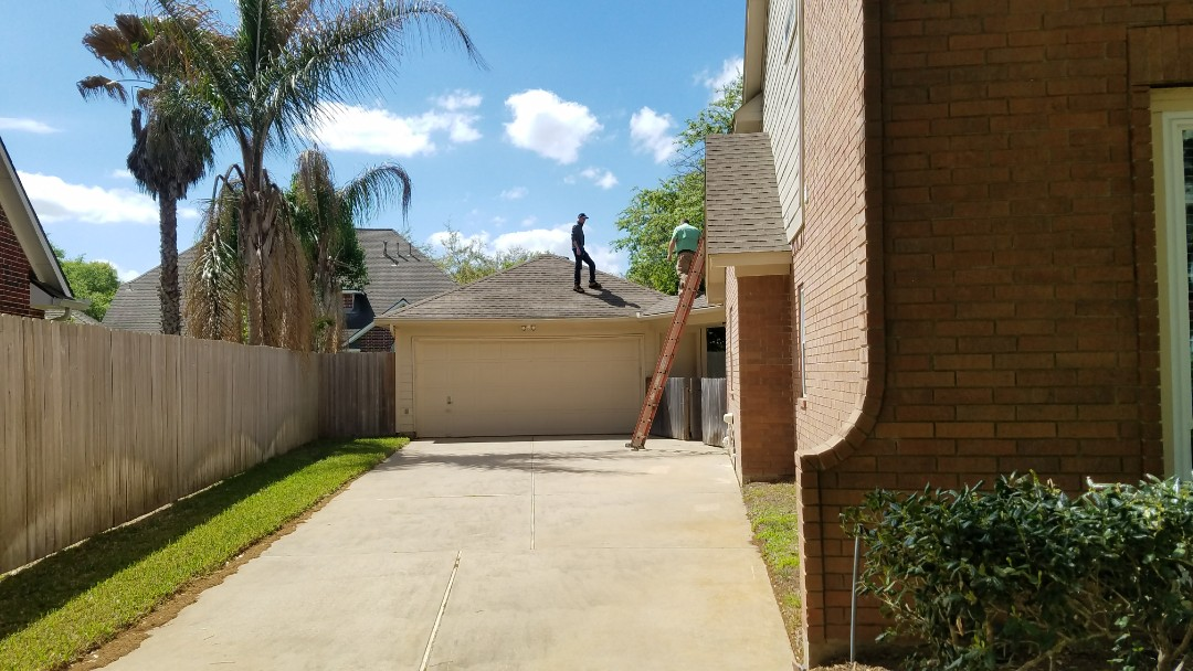 Sugar Land, TX - Working with homeowners insurance adjusters is an essential part of having them pay to replace your roof.