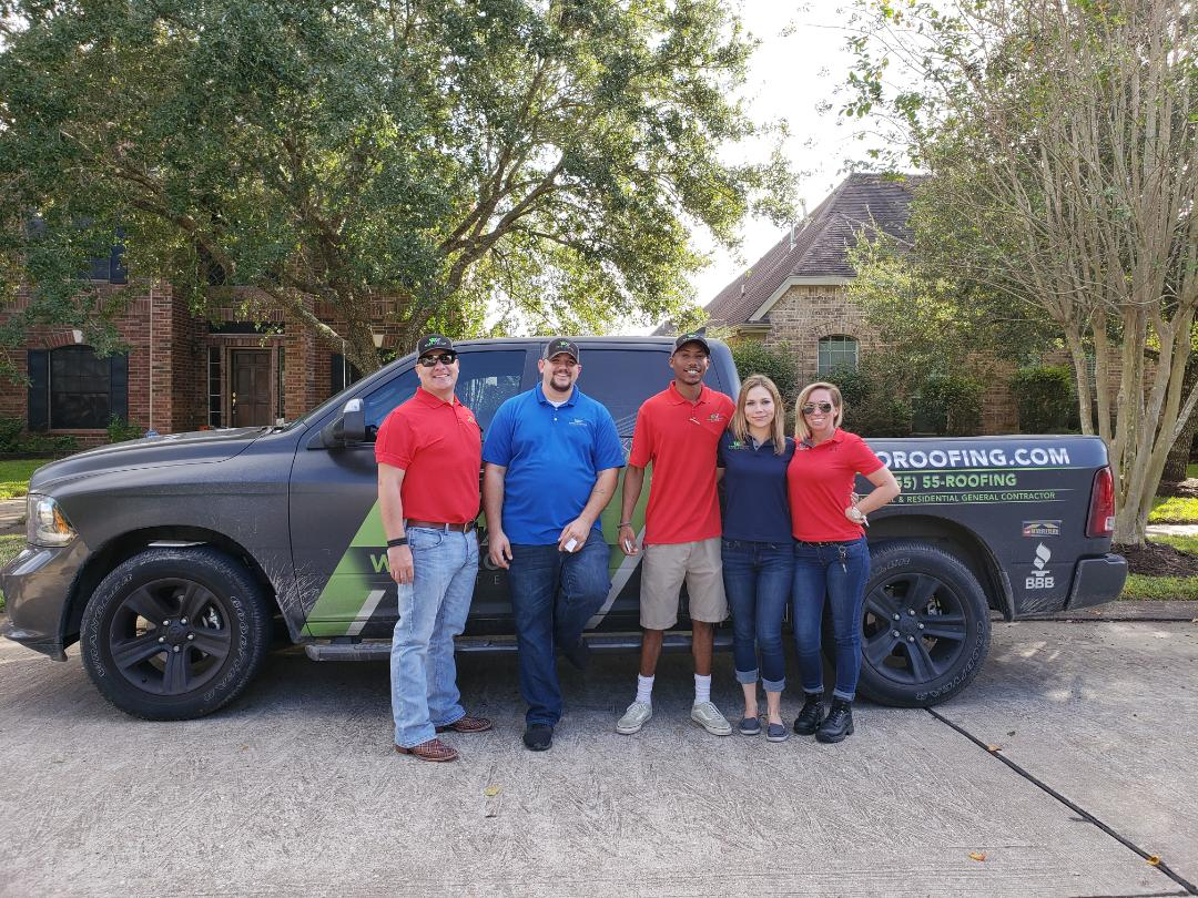 Friendswood, TX - All of our claims experts in Friendswood, TX ready to help you after the storm on Halloween.