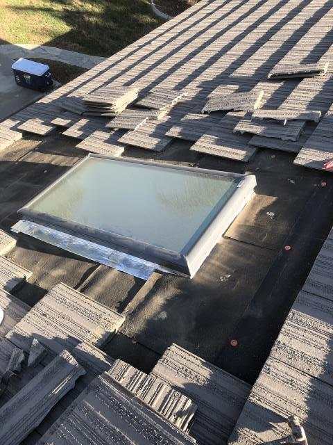 Winchester, CA - Homeowner called for a possible leak in our skylight we installed. WE ALWAYS WARRANTY OUR WORK! Investigated issue and come to find out it was a hole in the paper 10 foot above our skylight. We fixed the issue for no charge and our customer is satisfied and is now a bigger fan. Pays off to be a stand up company and support your customers.