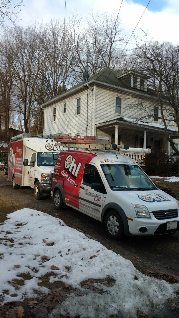Mount Bethel, PA - Starting a Lennox Ductless heatpump system install in Mt. Bethel