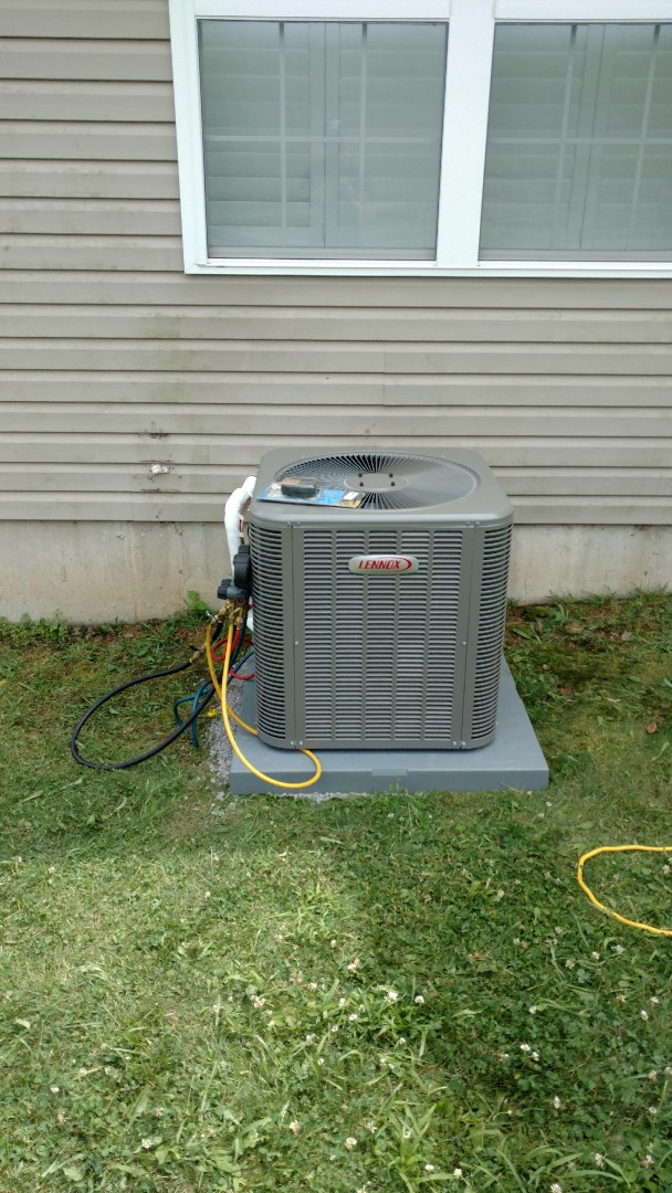 Palmerton, PA - Installed a new Lennox Air conditioning system in  Palmerton