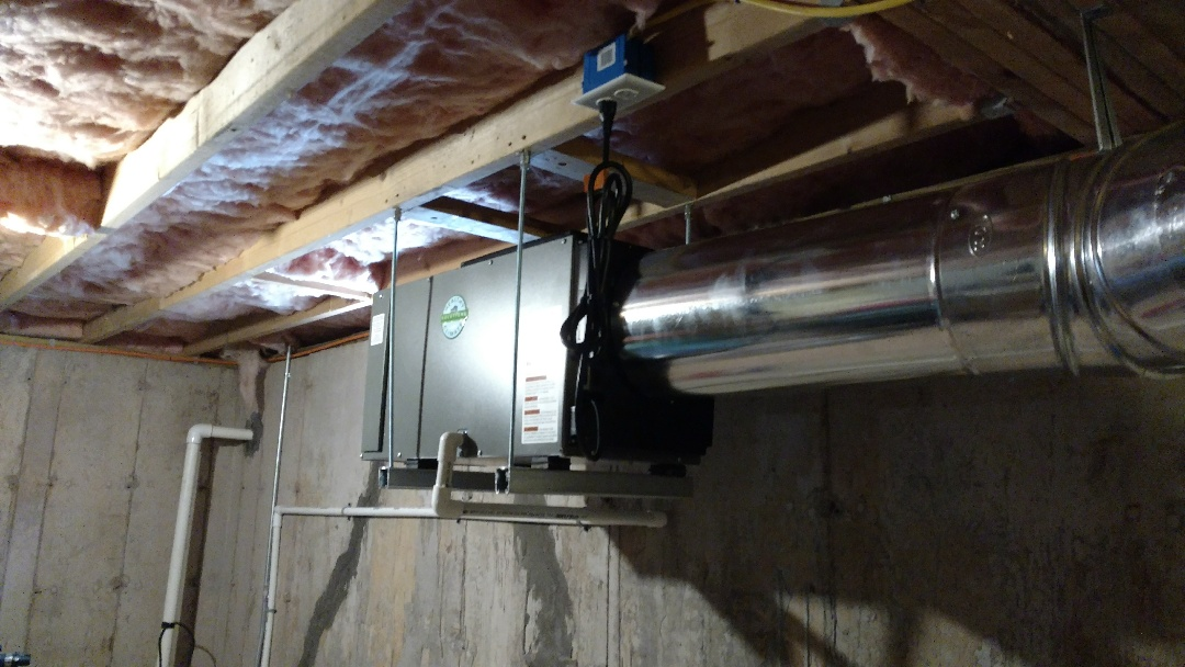 Albrightsville, PA - Installed a new dehumidifier in Albrightsville