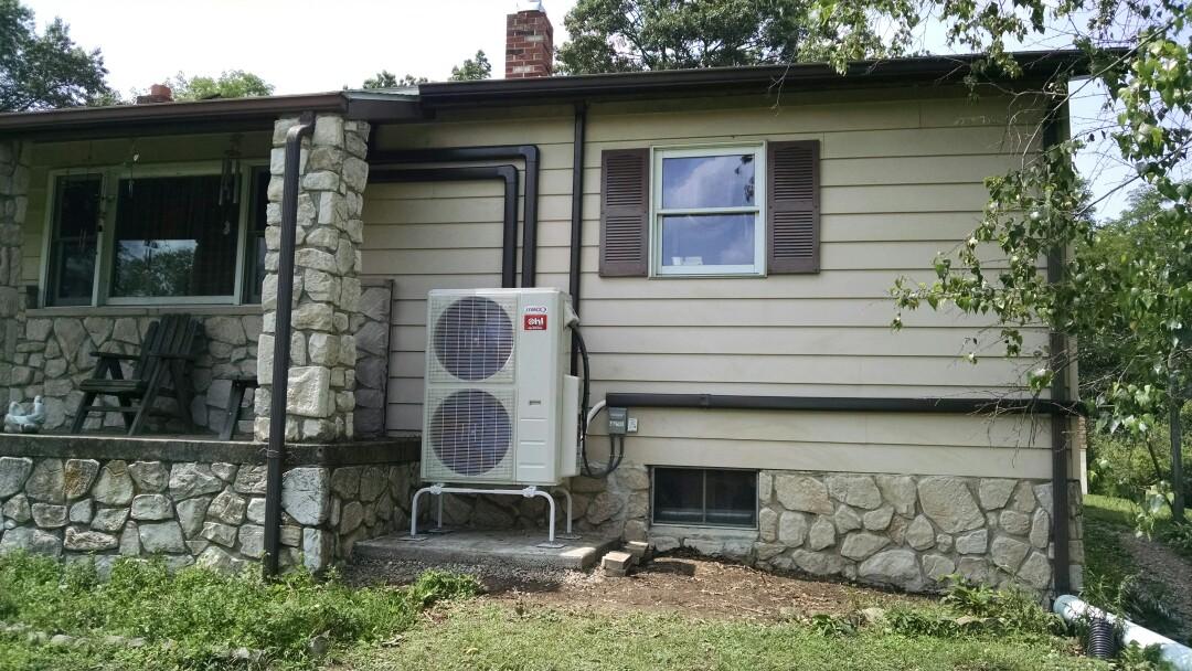 Summit Hill, PA - Lennox ductless heat pump installation near summit hill