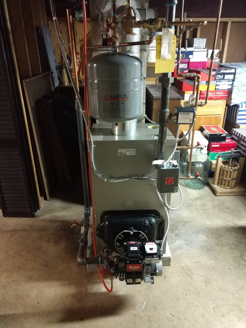 Northampton, PA - Cleaning oil boiler
