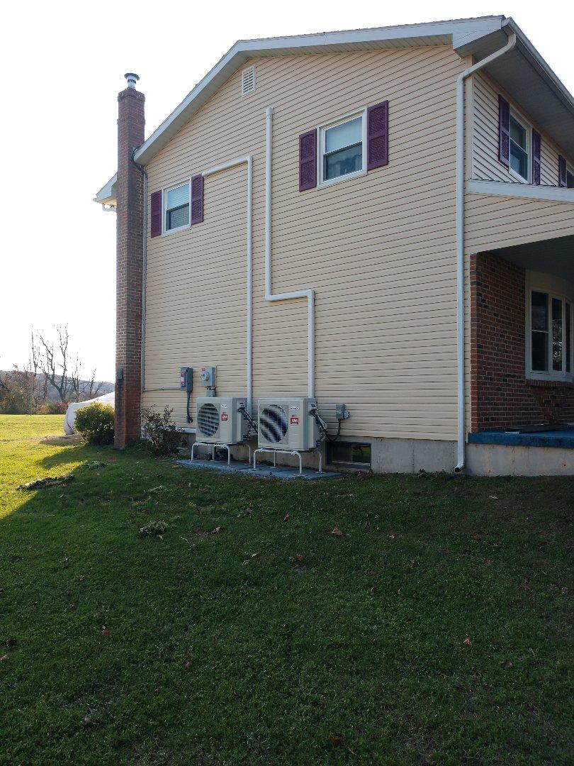 Slatington, PA - Lennox ductless install