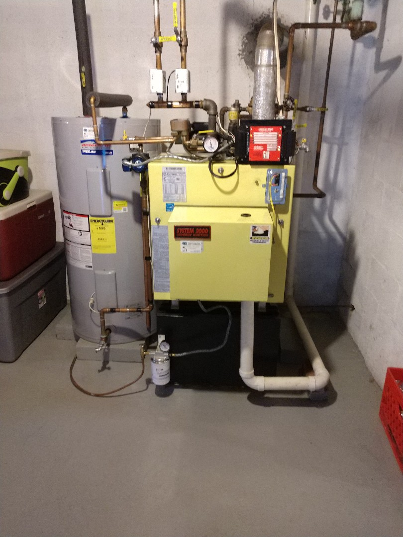 Palmerton, PA - Cleaning oil fired boiler in palmerton