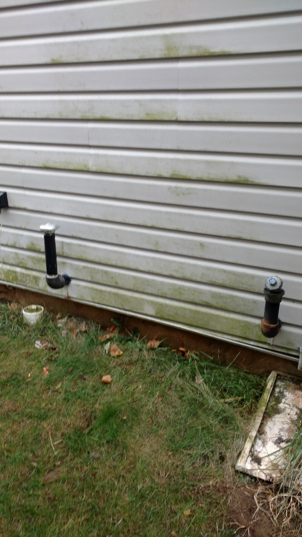 """Walnutport, PA - Installed a new 2"""" vent pipe on an oil tank in Walnutport"""