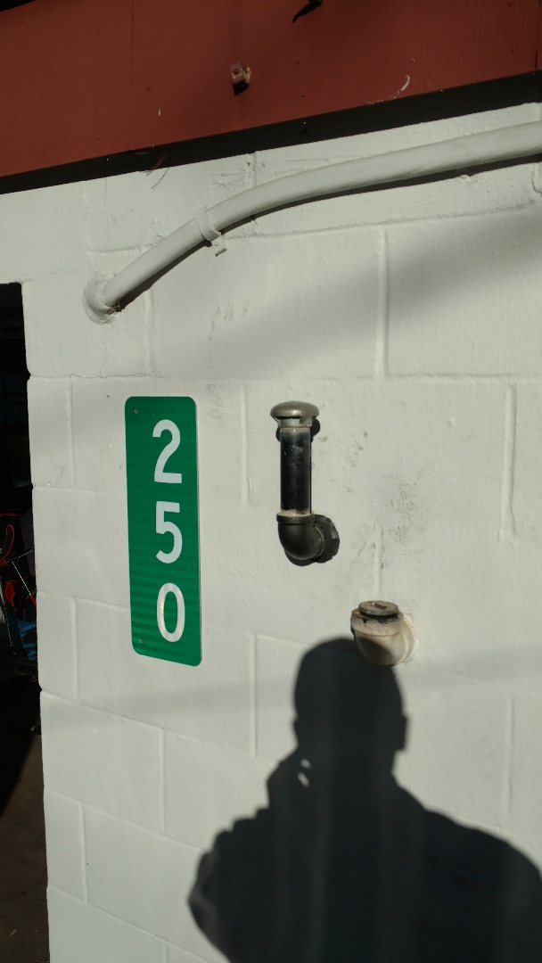 "Lake Harmony, PA - Installed a new 1 1/4"" vent in Lake Harmony"