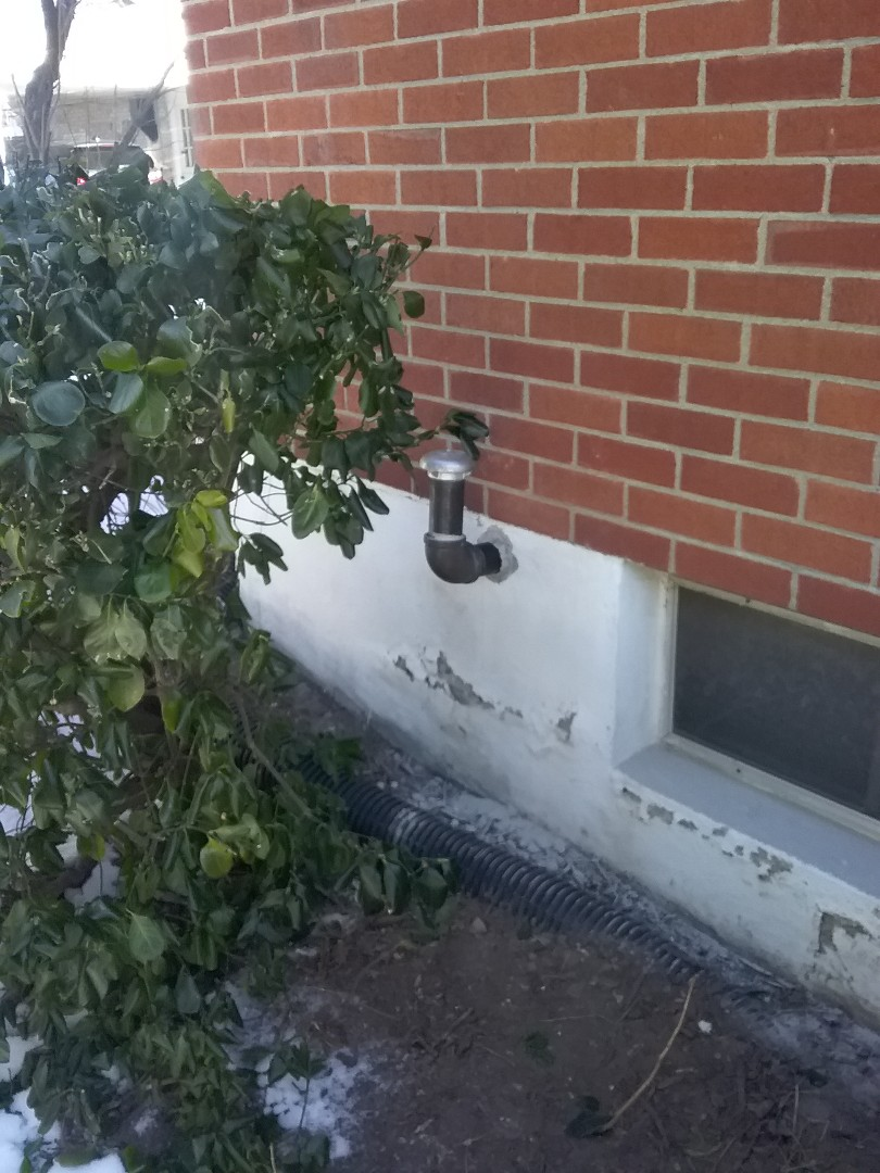 Northampton, PA - Installed a new 2 inch vent pipe on an oil tank in Northampton