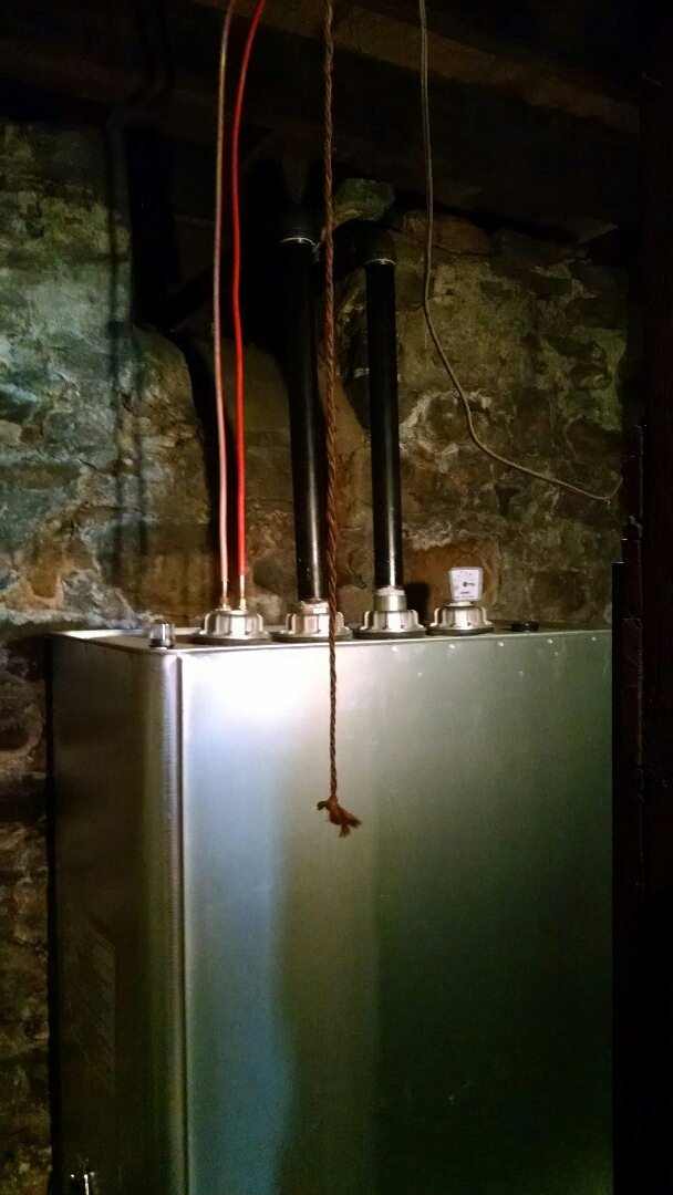 Lake Harmony, PA - Swapping out oil tank with new Granby tank