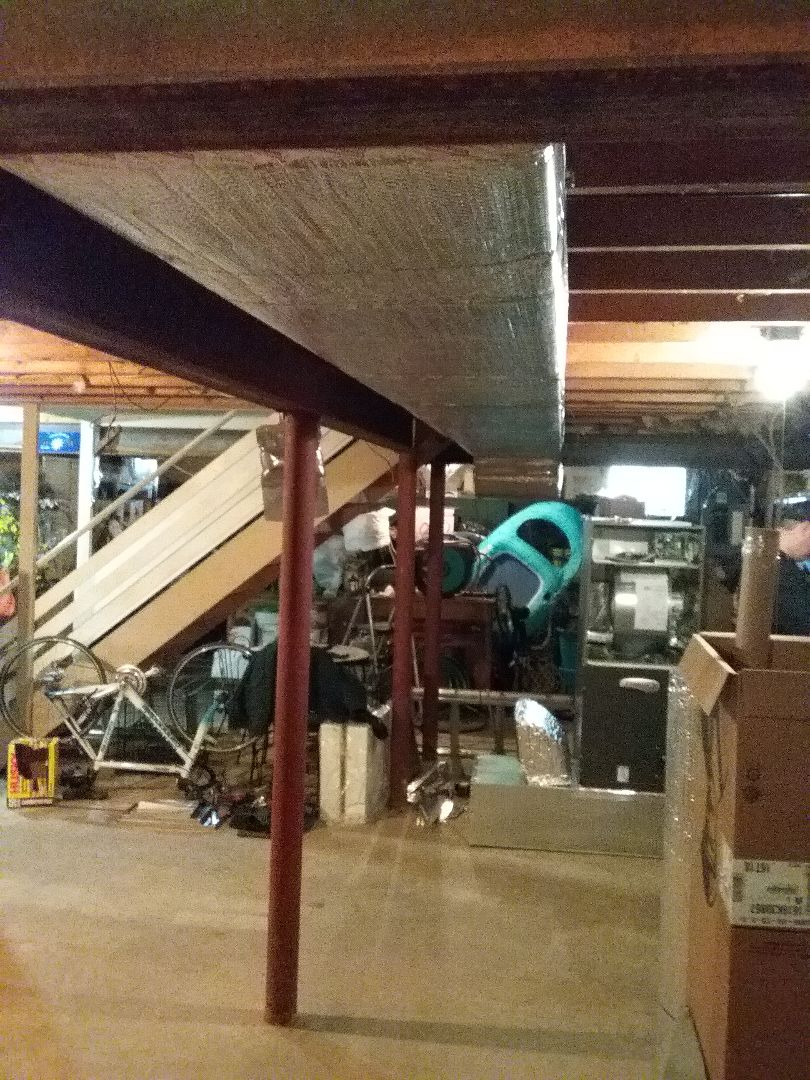 Bethlehem, PA - Installing 2 zone Lennox ducted AC system in Bethlehem.