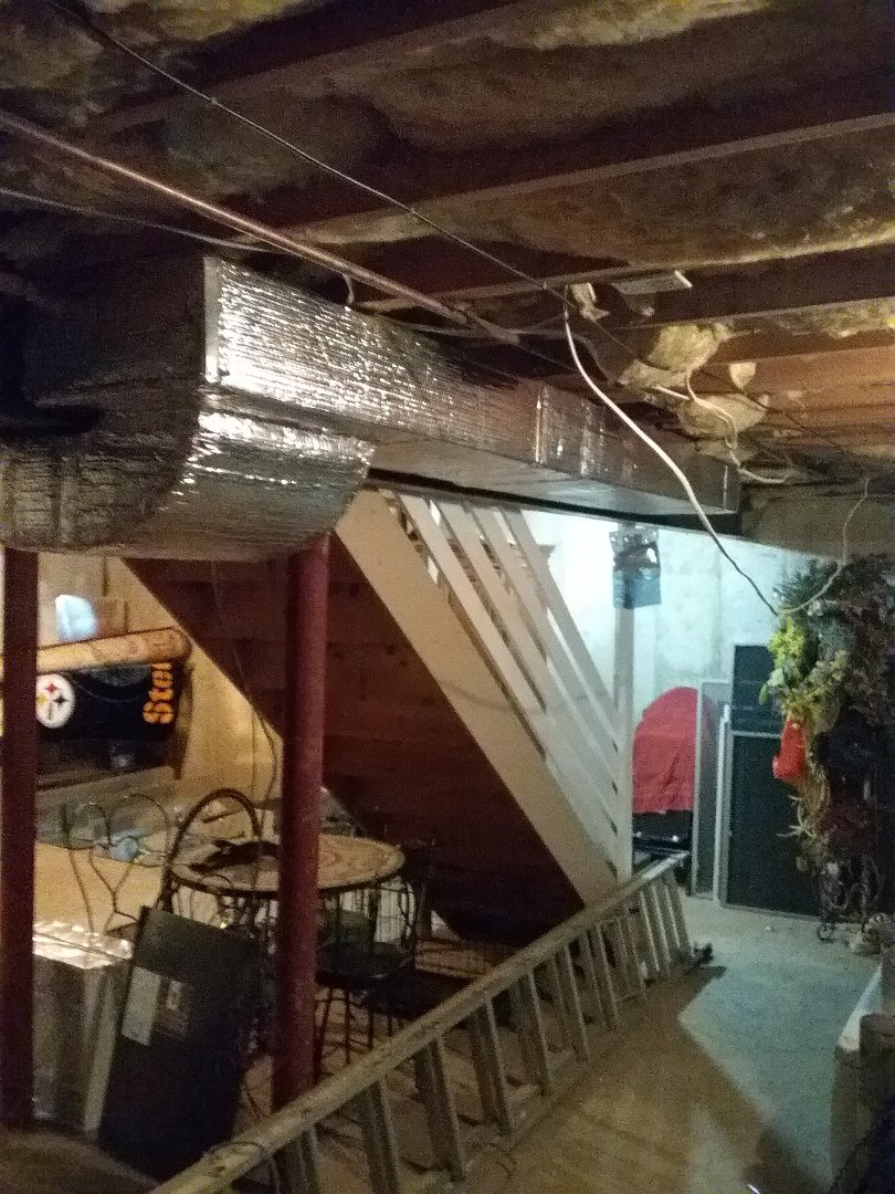 Bethlehem, PA - Installing 2 zone Lennox ducted system in Bethlehem.