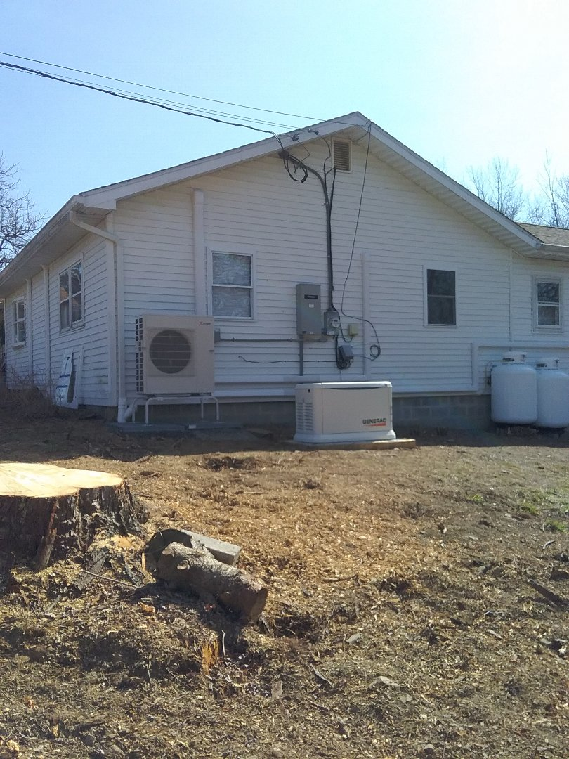 Kunkletown, PA - Installed 5 zone Mitsubishi ductless in Kunkletown
