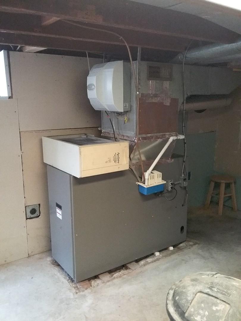 Allentown, PA - Installed a new Lennox oil loboy furnace in Allentown