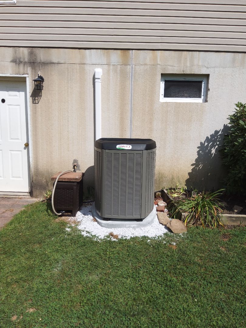 Slatington, PA - Installed cold air coil and outdoor unit in Slatington.