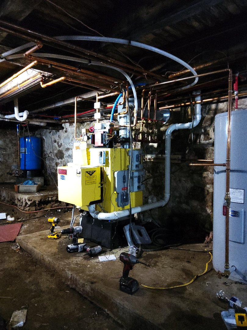 Lehighton, PA - Adding zones to a boiler in Albrightsville.