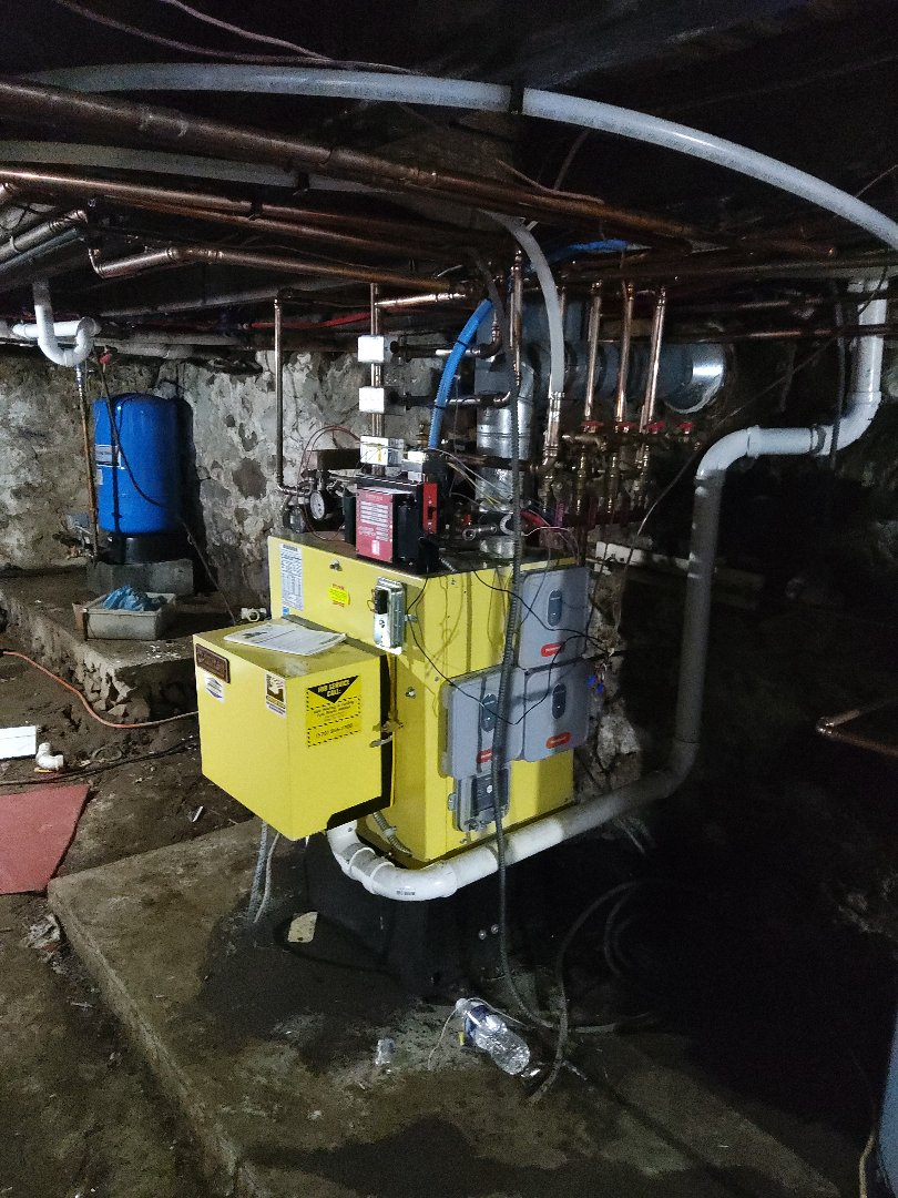 Palmerton, PA - Installed a new heating zone on an oil boiler