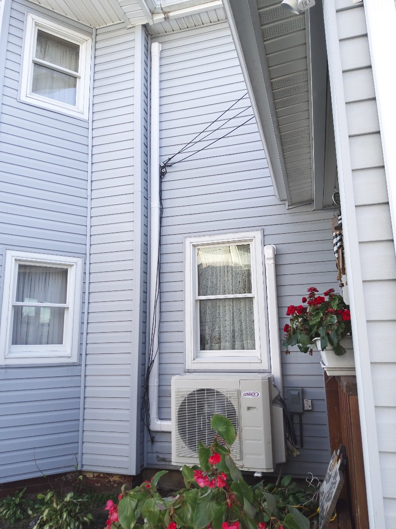 Lehighton, PA - Installed a new Lennox ductless heat pump 3-zone system in Lehighton