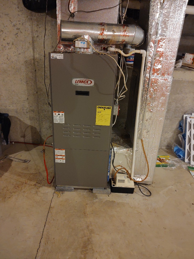 Germansville, PA - Fixing an oil furnace in Germansville