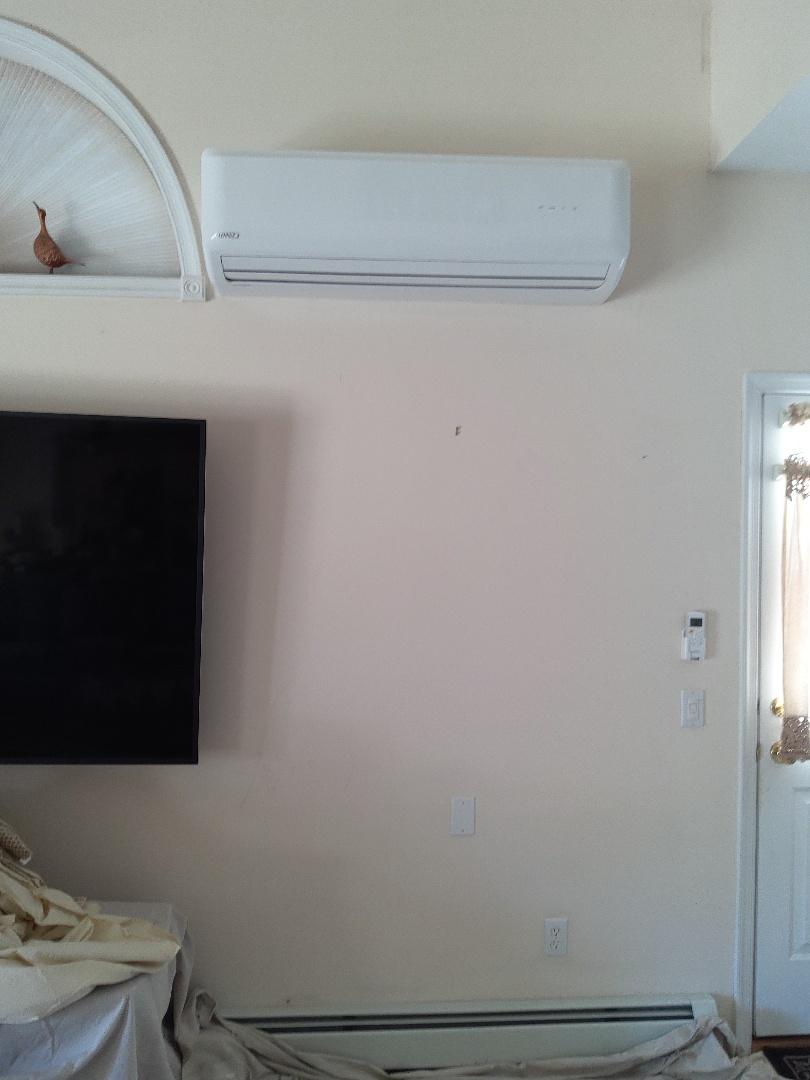 Effort, PA - Installed a new 2-Zone Lennox ductless heat pump system in Effort