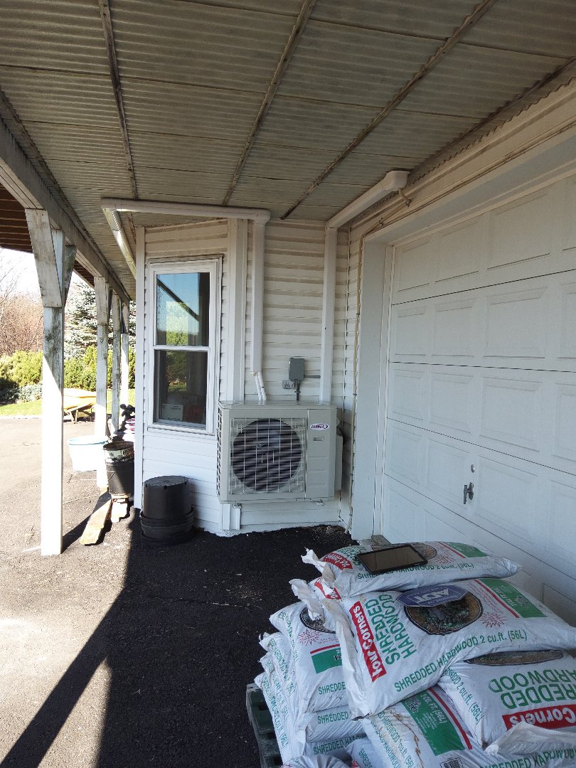 Effort, PA - Installed 2 zone Lennox ductless heat pump system in  Effort.