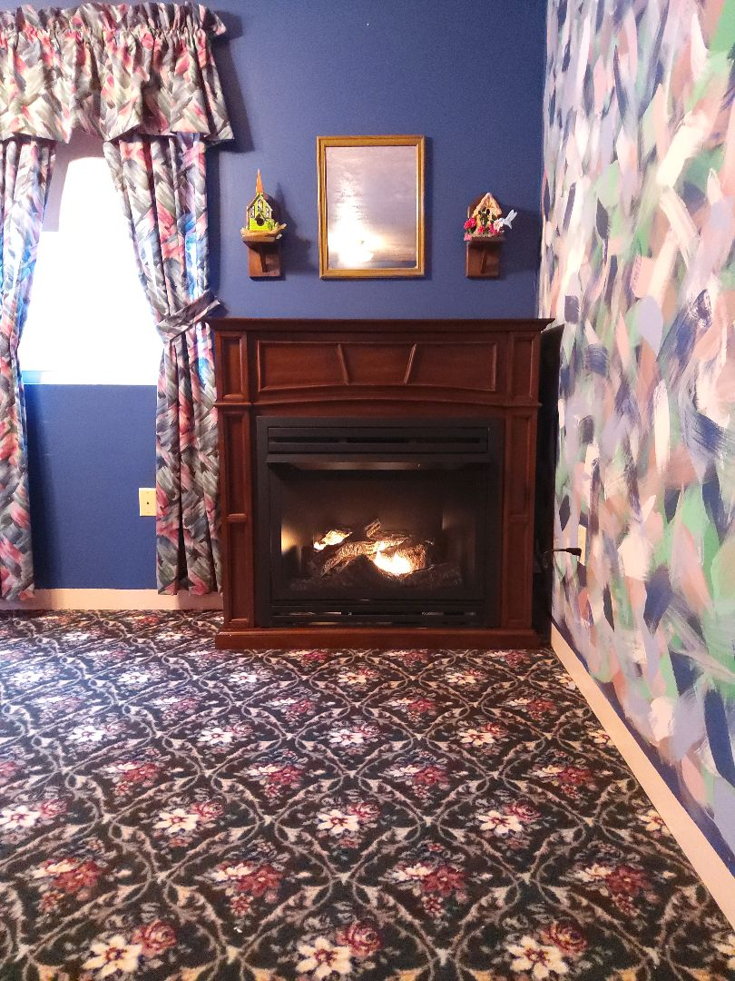 Jim Thorpe, PA - Installed a new propane vent free fireplace with mantel