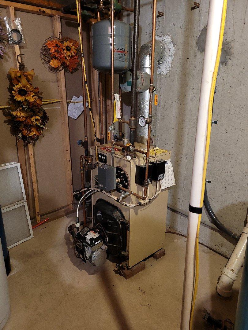 Lehighton, PA - Cleaning oil boiler in Lehighton pa