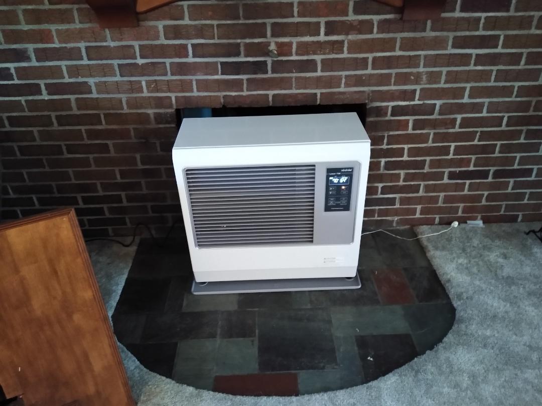 Orwigsburg, PA - Installation of toyostove oil heater