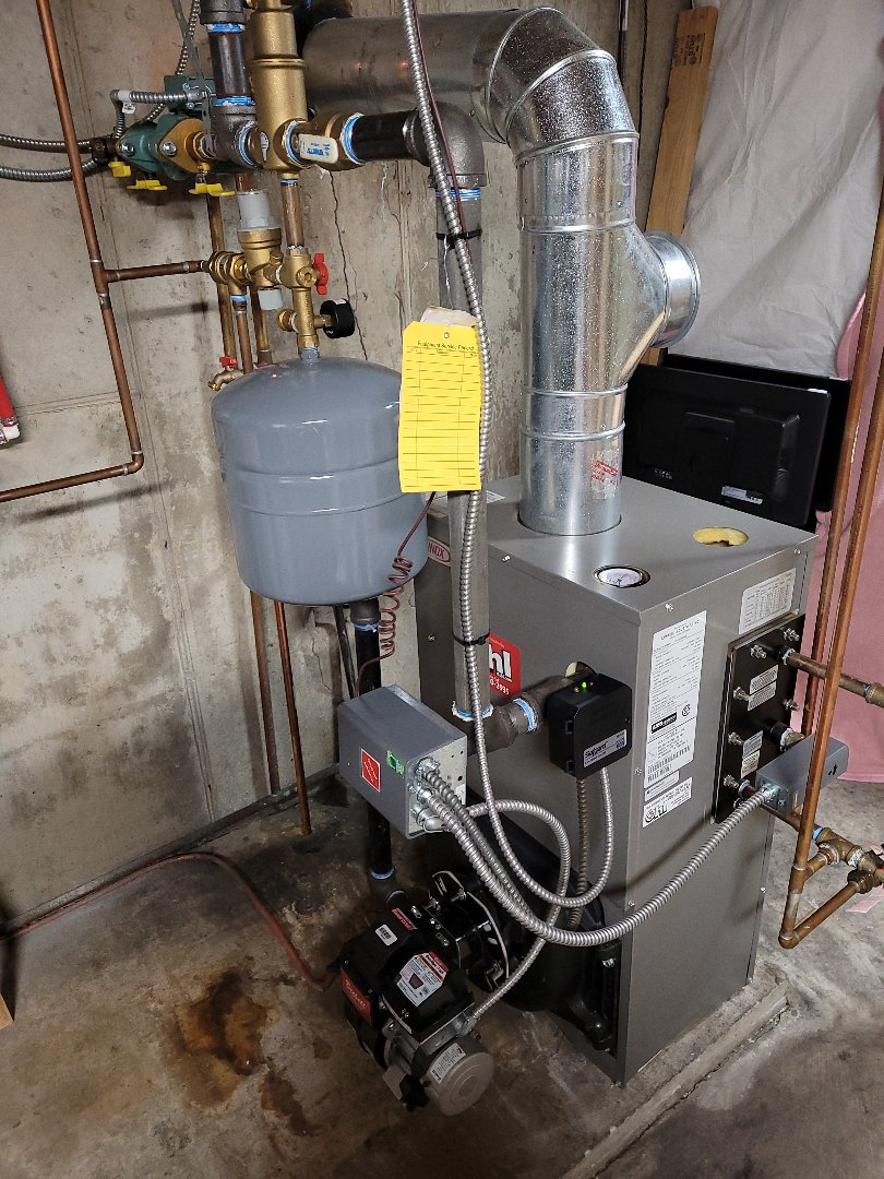 Jim Thorpe, PA - Cleaning oil boiler in Jim Thorpe
