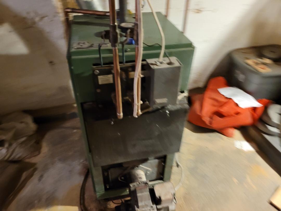 Northampton, PA - Cleaning oil boiler in Northampton pa