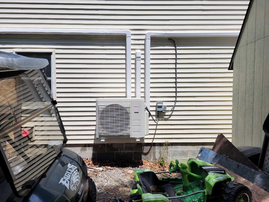 Cleaning lennox ductless system in lake Hauto ,nesquehoning pa