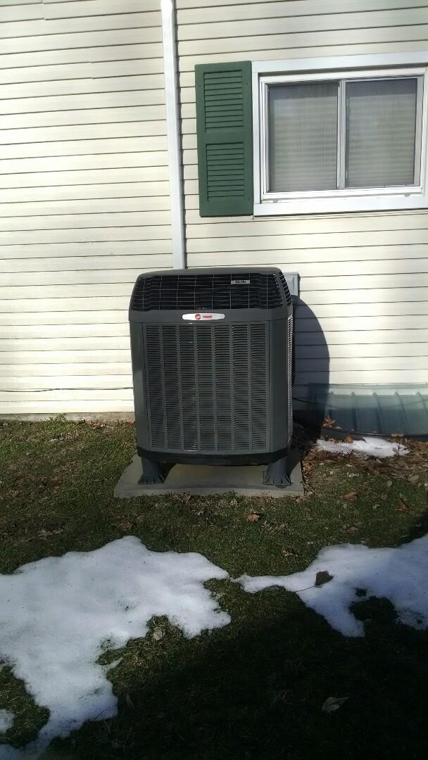 Bethlehem, PA - Trane AC/Heat Pump  Cooling Tune Up
