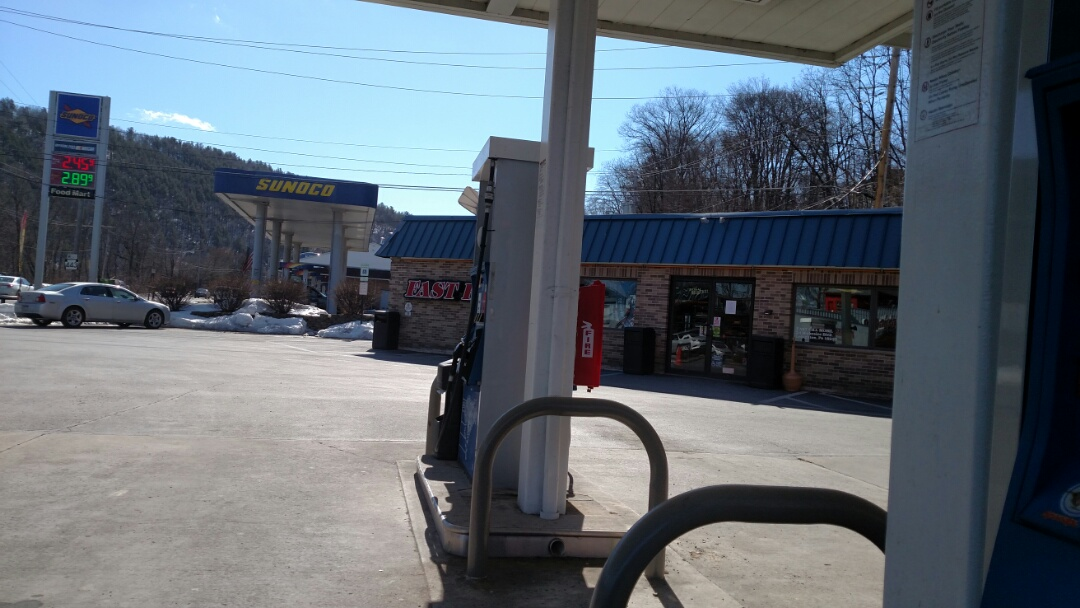 Lehighton, PA - Fueling up for heating and cooling