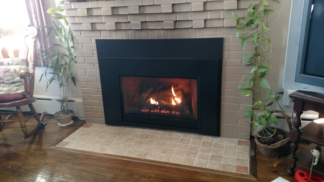 Tamaqua, PA - Empire fireplace installed in tamaqua, pa.