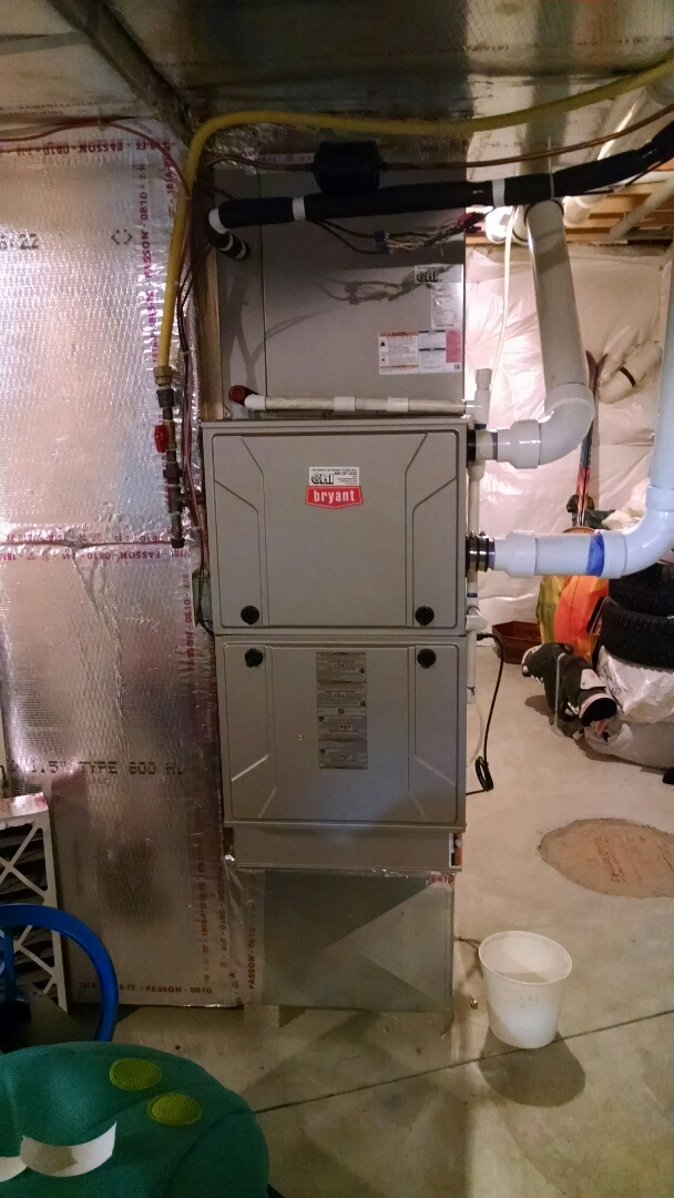 Coplay, PA - Bryant Heat Pump With Gas Furnace. Air Conditioning Tune Up