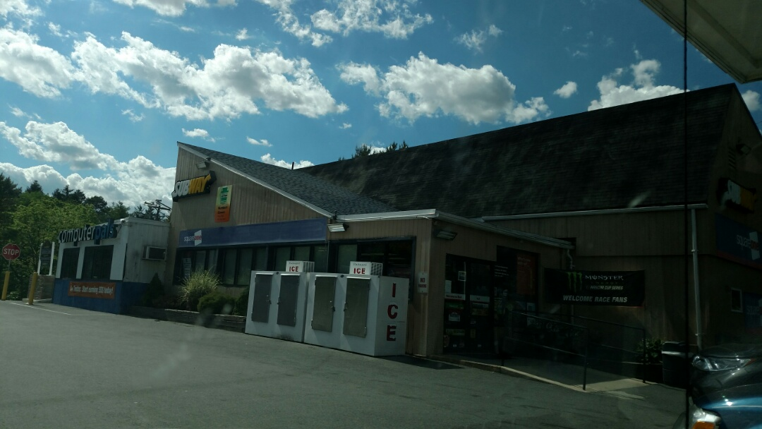 Lehighton, PA - Getting gas before I go to my heating and cooling appointment
