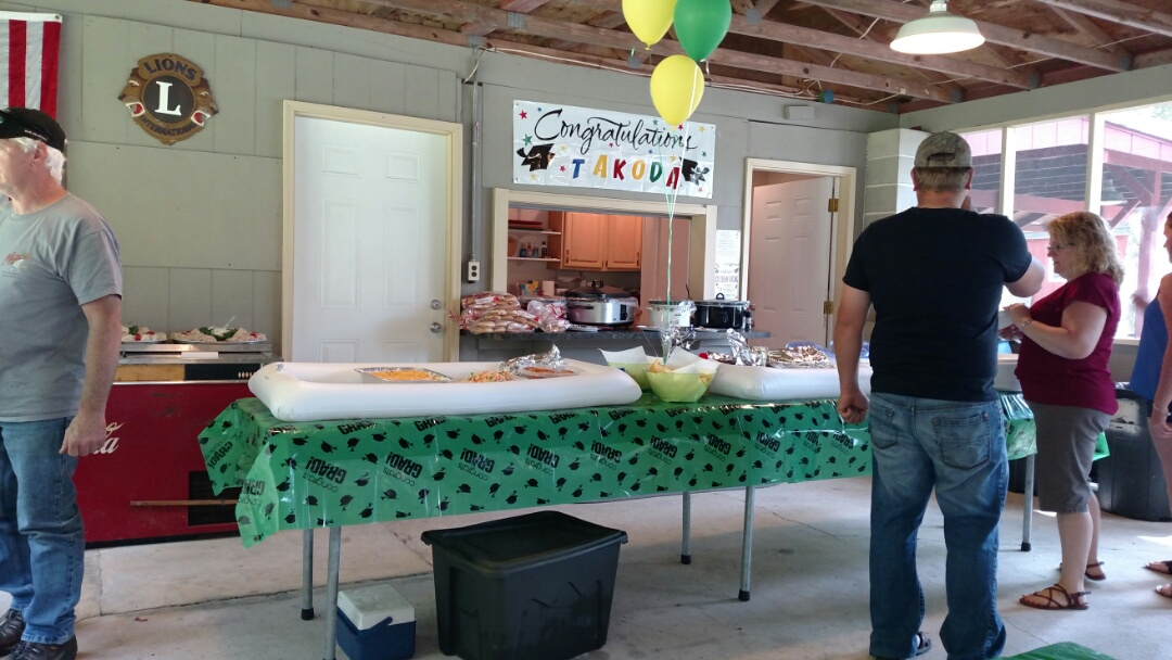 Lehighton, PA - At a graduation party before a heating and cooling appointment