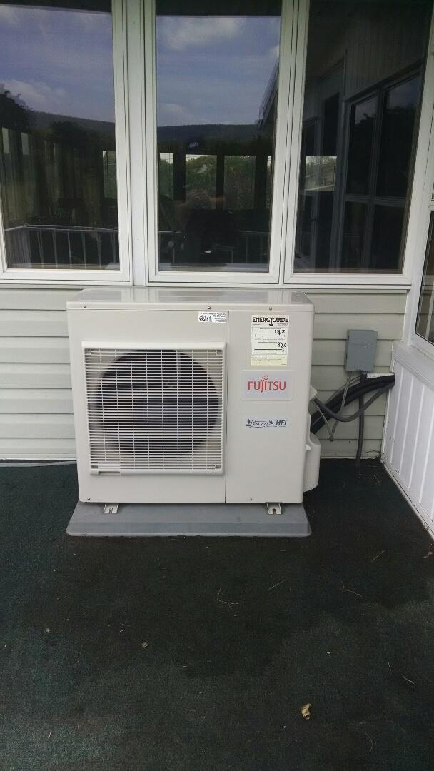 Lehighton, PA - Fujitsu Ductless Air Conditioning Tune Up