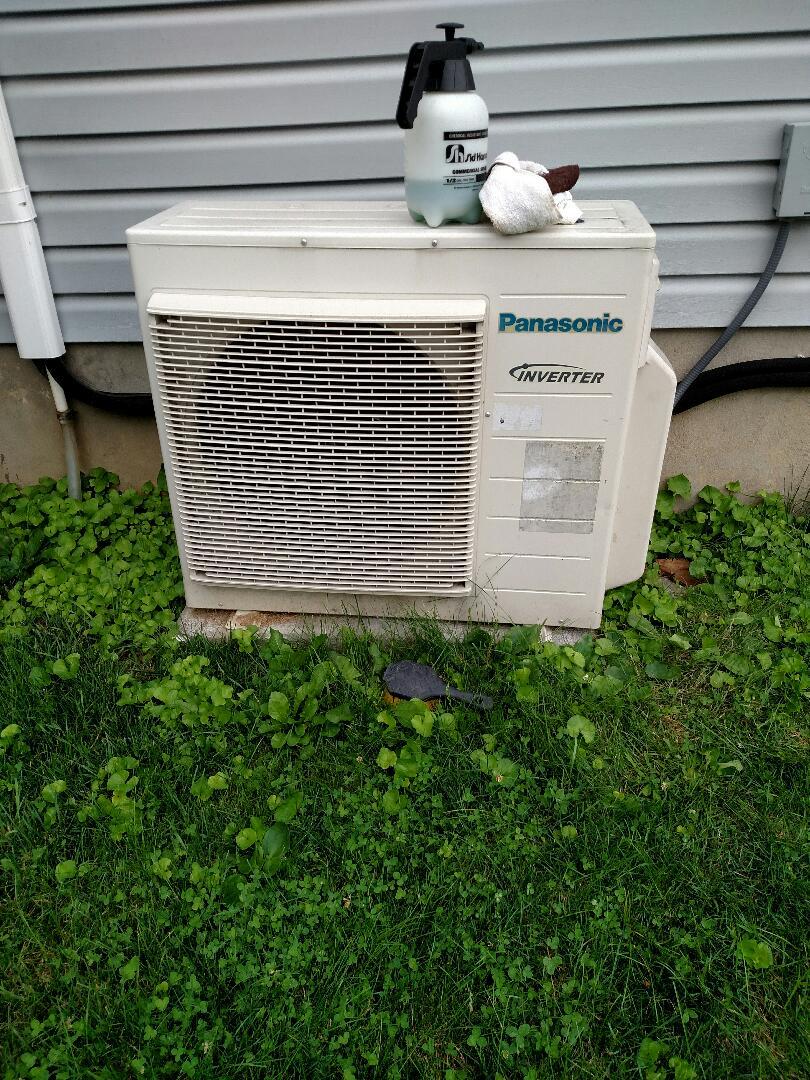 Nazareth, PA - Panasonic ductless split / PTU