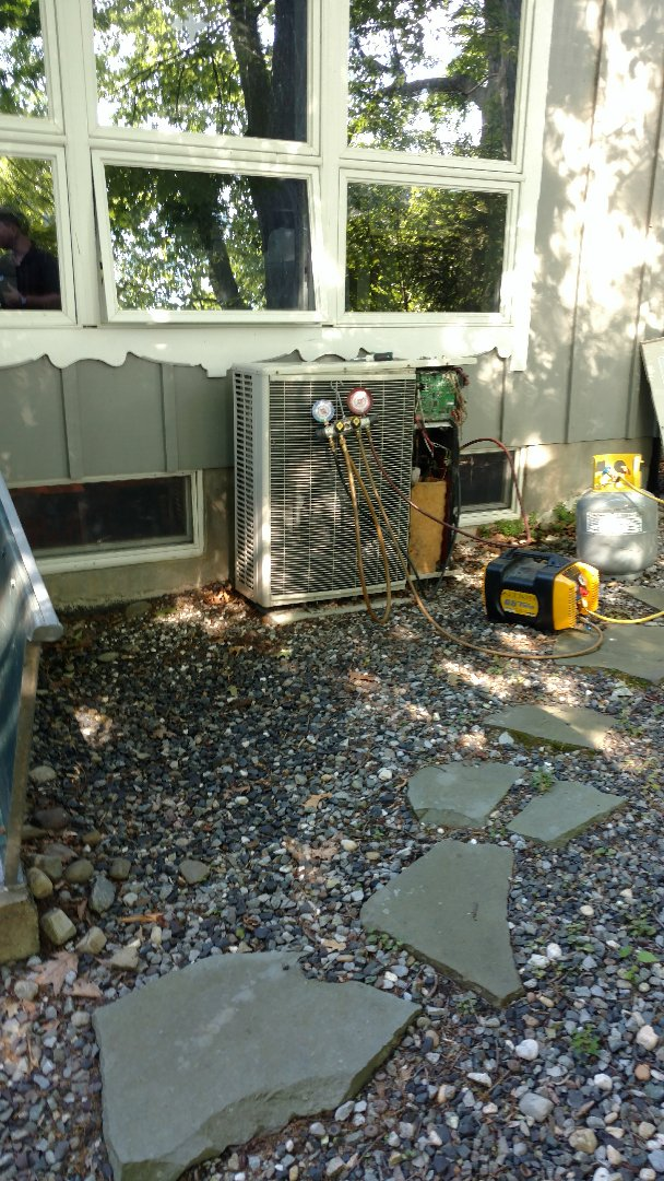 Mount Bethel, PA - Changing out a Mitsubishi ductless heatpump system in Mt Bethel