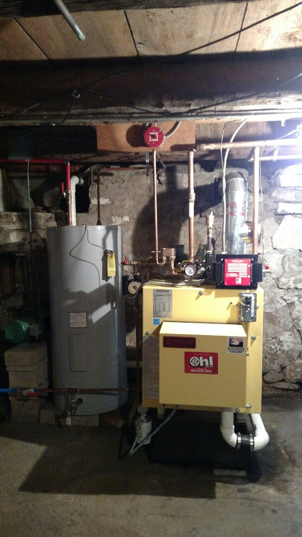 Kunkletown, PA - Installed system 2000 boiler and indirect water heater