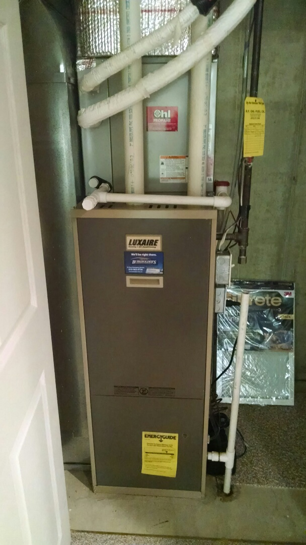 Macungie, PA - Bryant AC and Luxaire Gas Furnace Tune Up