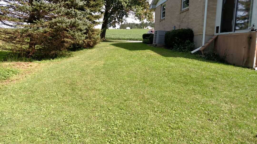 Germansville, PA - Setting a propane tank for heating and cooling