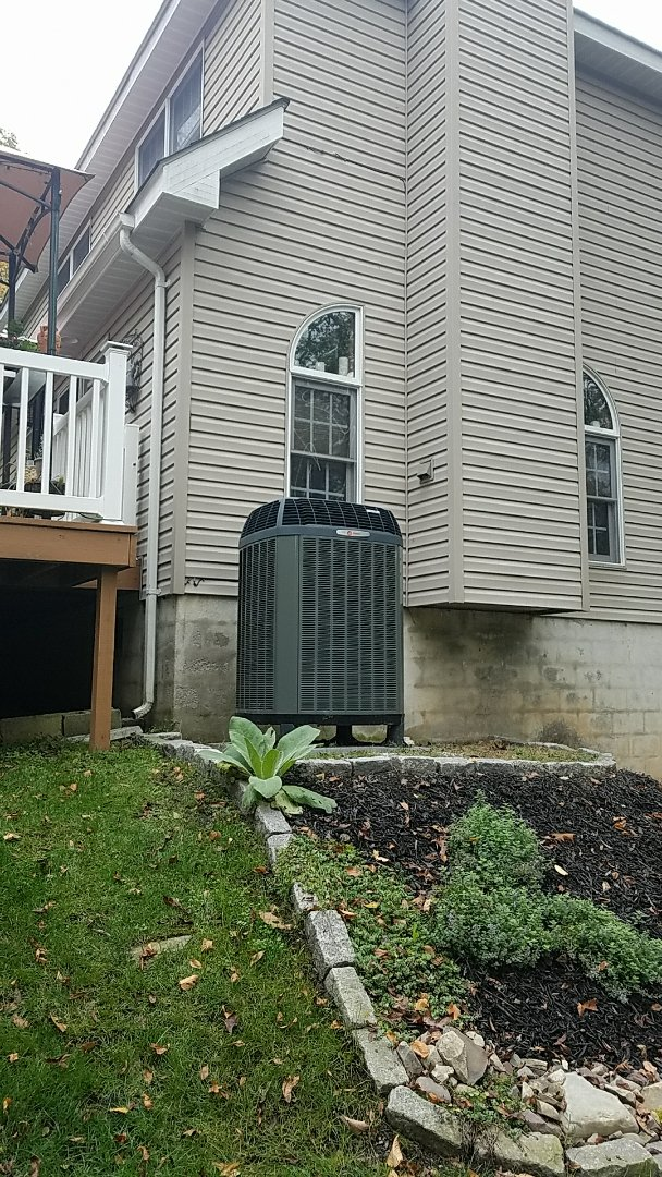 Lehighton, PA - Trane heat pump defrost control and thermostat replacement in East Stroudsburg Pa