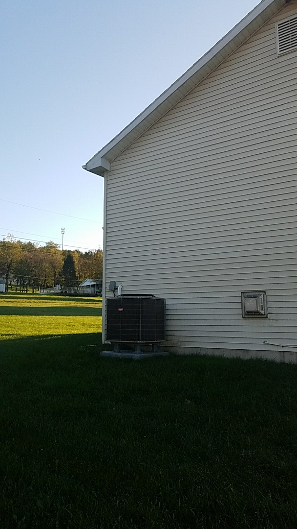 Lehighton, PA - Bryant heat pump system repaired closer to maple ave.