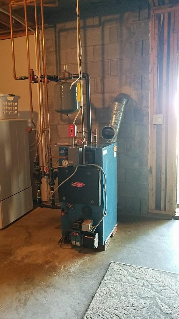 Lehighton, PA - Oil burner boiler annually maintenance service