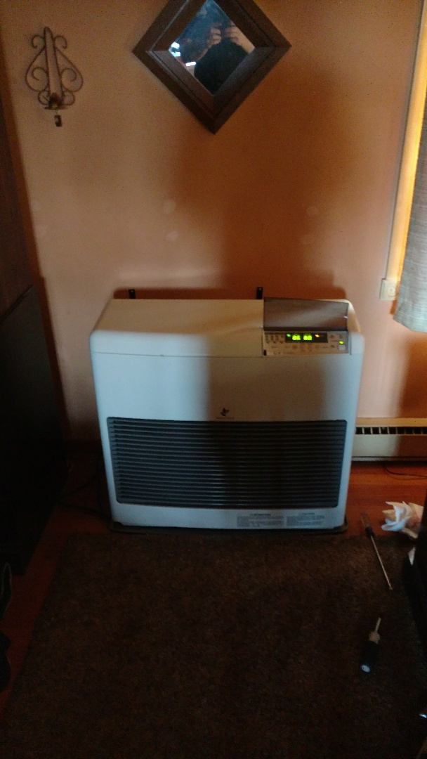 Germansville, PA - Installed a new propane monitor heater in Germansville