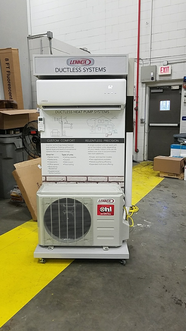 Hvac Unit Near Car